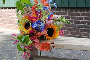 bloemen, bloemstuk, uitvaart