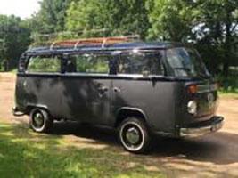 bus, rouwvervoer, kind, baby, Volkswagen busje